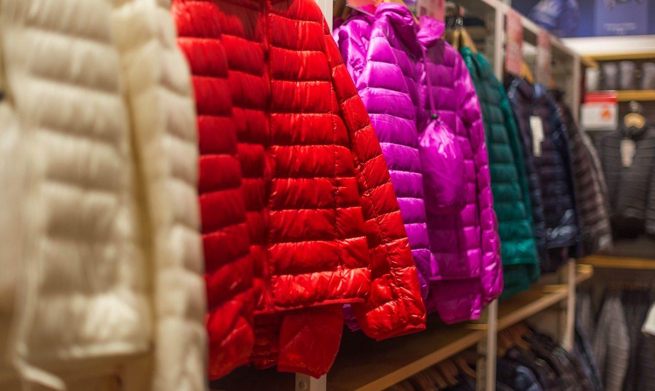 doudounes de couleurs pour cet hiver